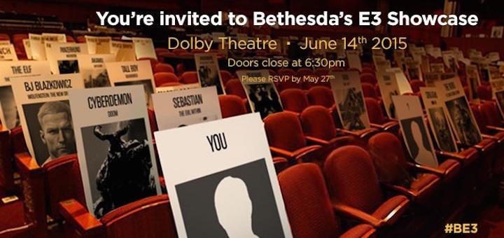 Bethesda E3 Invite