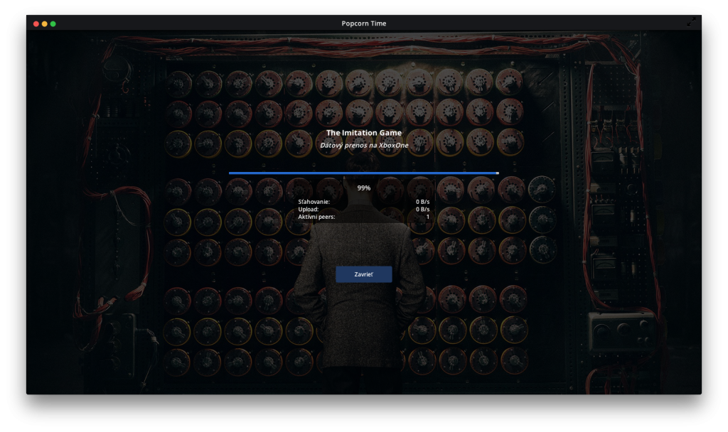 Popcorn Time Imitation Game