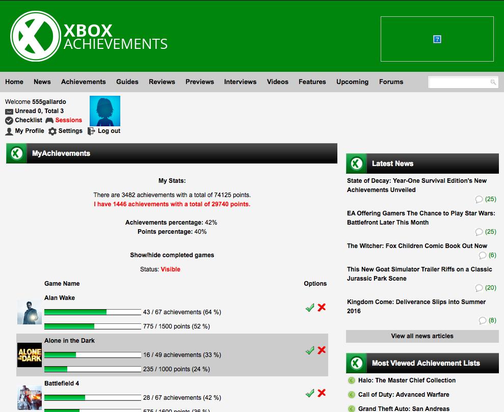 XboxAchievements
