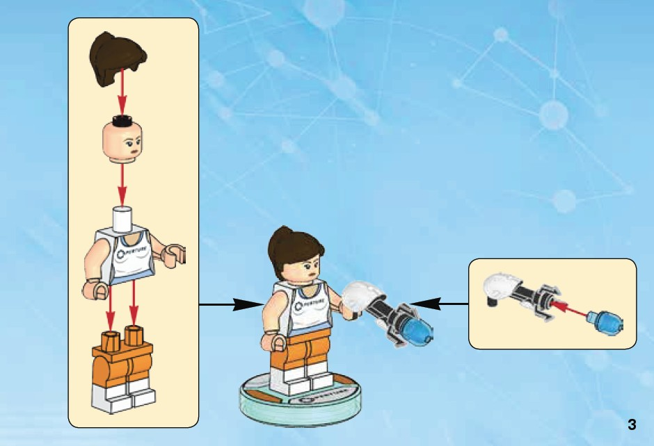LEGO Dimensions Chell