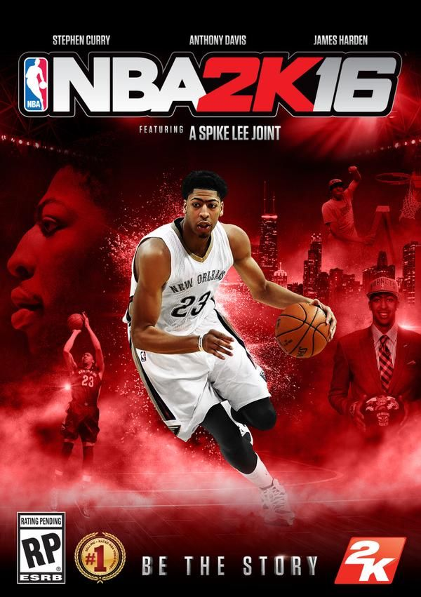 NBA 2K16 Anthony Davis