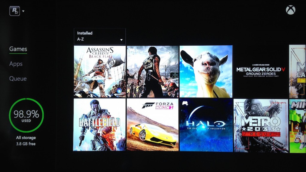Xbox One 500GB full