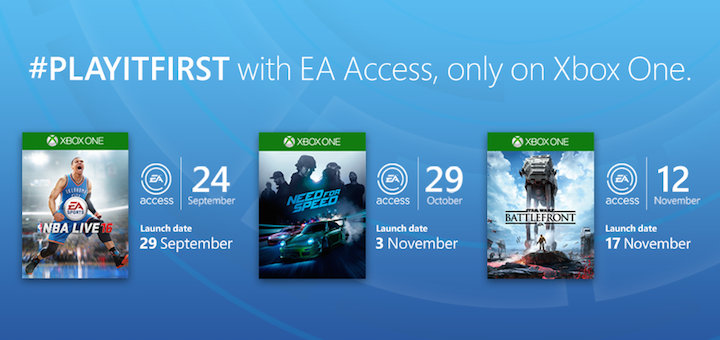 EA Access Play It First