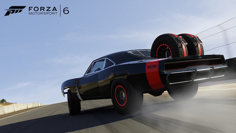 Forza Motorsport 6 Dodge Charger Daytona Hemi