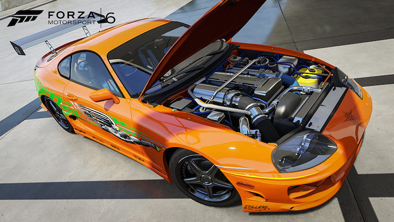 Forza Motorsport 6 Toyota Supra RZ
