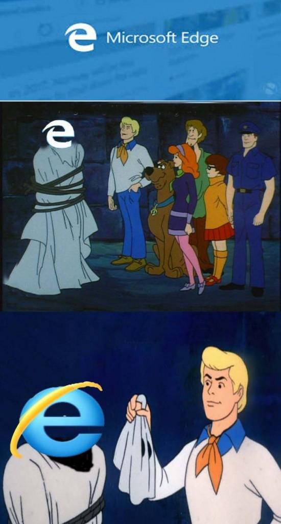 Microsoft Edge Scooby Doo