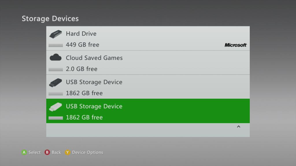 Xbox 360 2GB Cloud Save