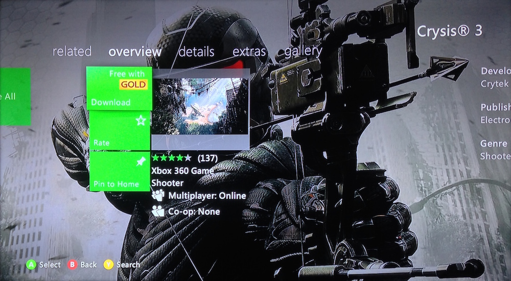 Xbox 360 Fall 2015 update