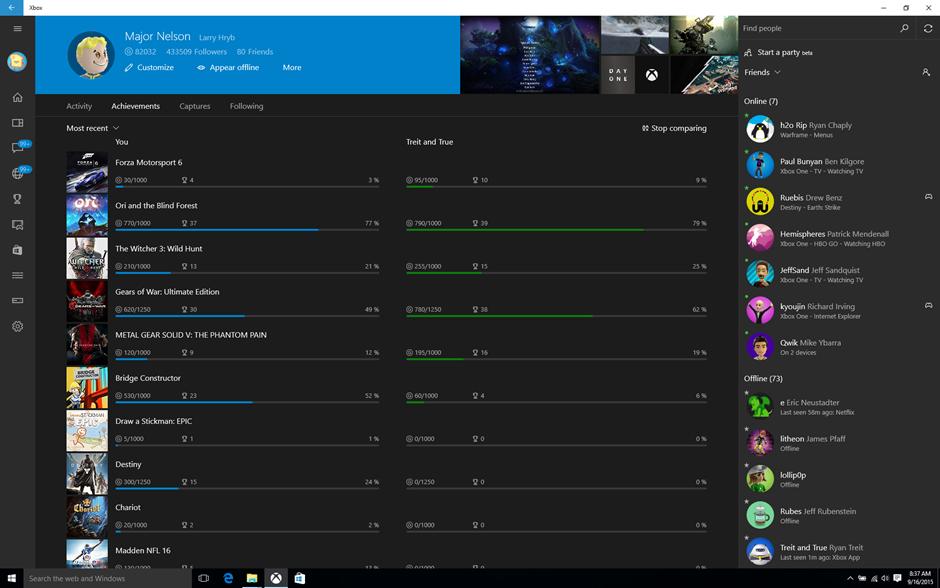 Xbox App Windows 10 September Update