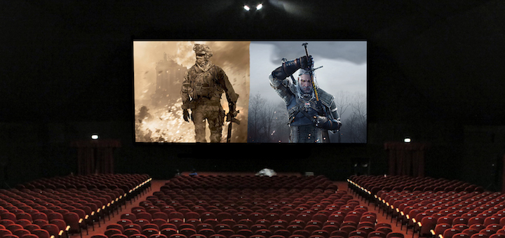 Cinema CoD Witcher