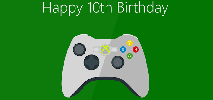 Xbox 360 Anniversary