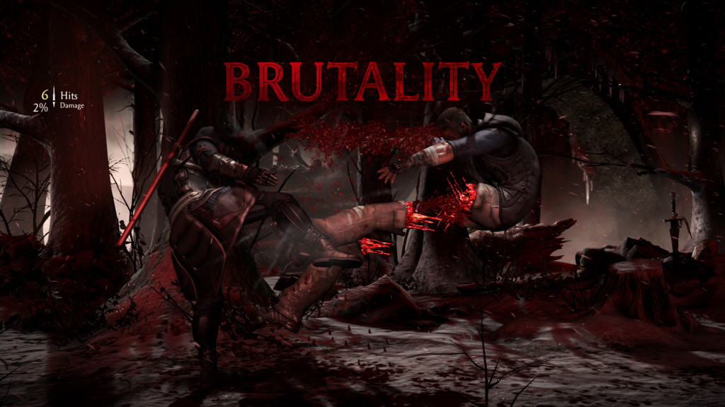 Mortal Kombat X Brutality Kenshi vs Johnny Cage