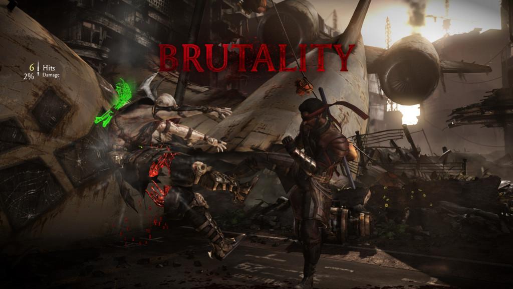 Mortal Kombat X Brutality Kenshi vs Quan Chi