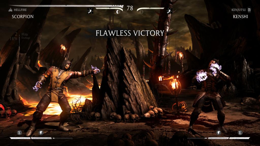 Mortal Kombat X Flawless Victory