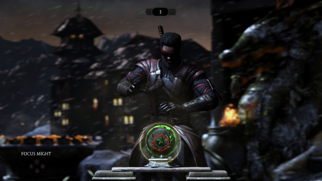 Mortal Kombat X Test Your Might