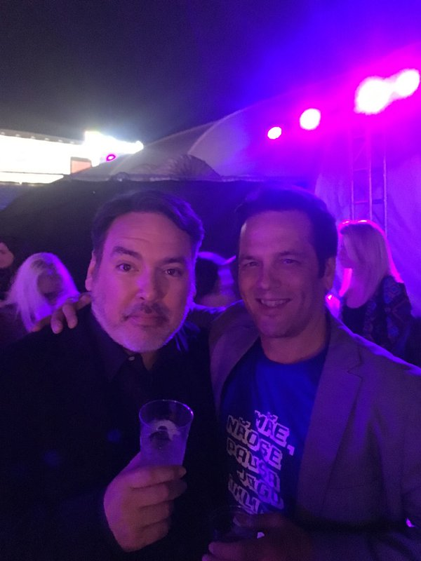 Xbox and PlayStation CEO drink beer together