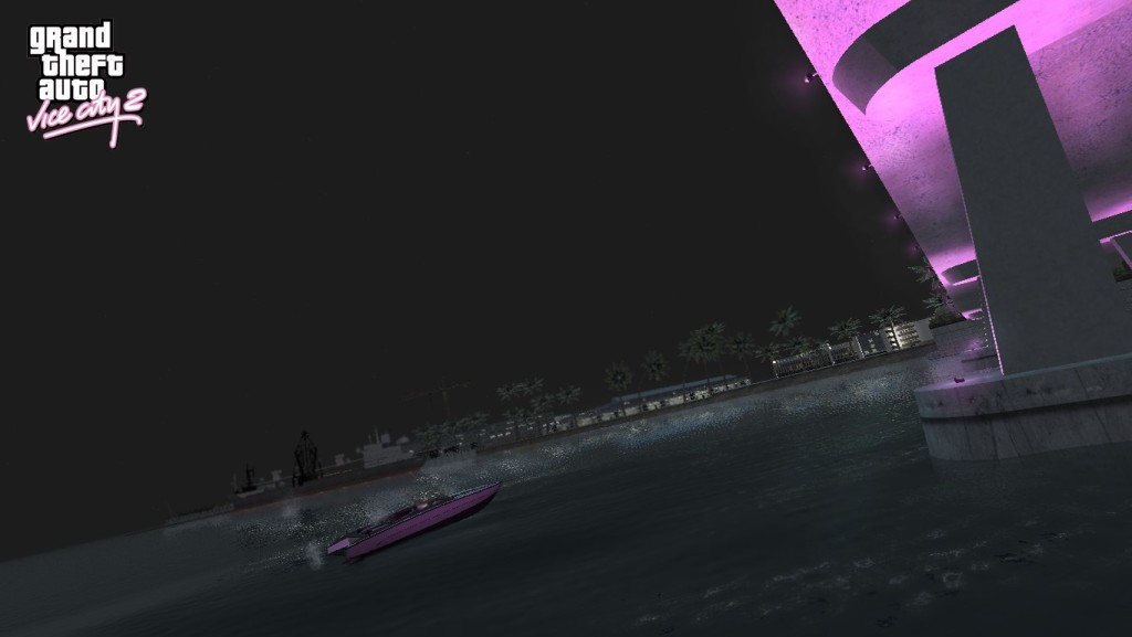 GTA Vice City 2 Boat Bridge
