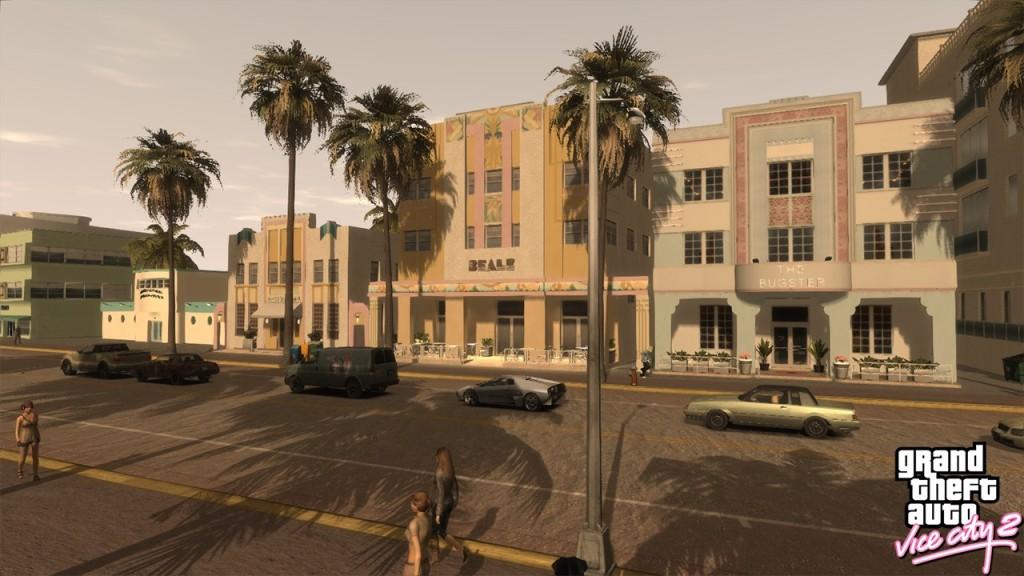 GTA Vice City 2 Ocean Drive