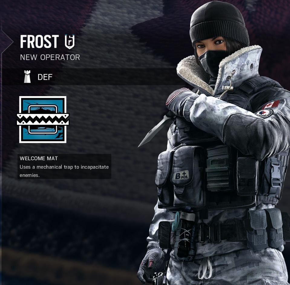 Rainbow Six Siege Black Ice Frost