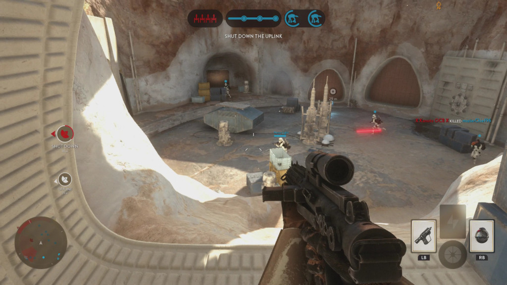 Star Wars Battlefront Shooting