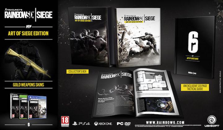 Rainbow Six Siege Art of Siege Edition