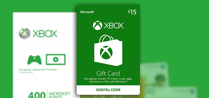Xbox Store Gift Card