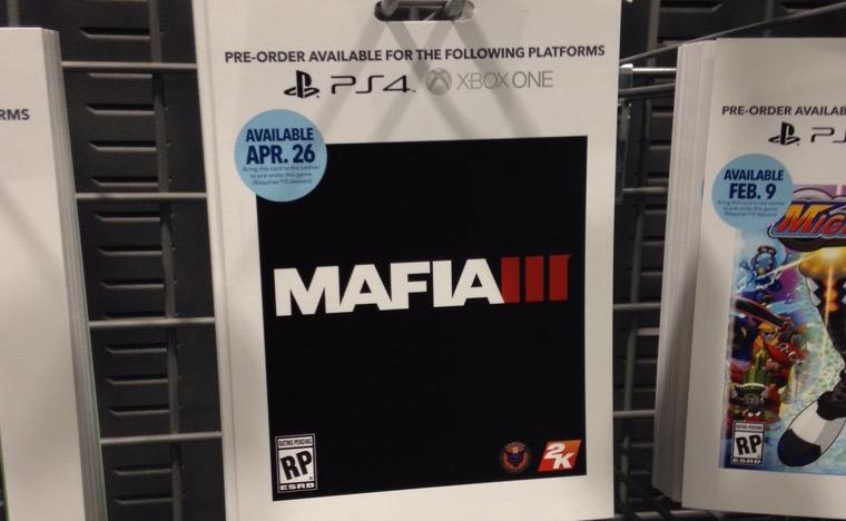 Mafia 3 Release Leak