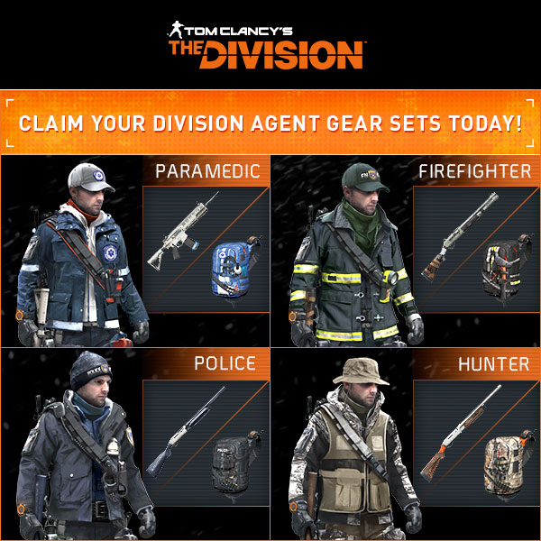 The Division outfits