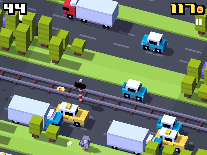 Crossy Road holub