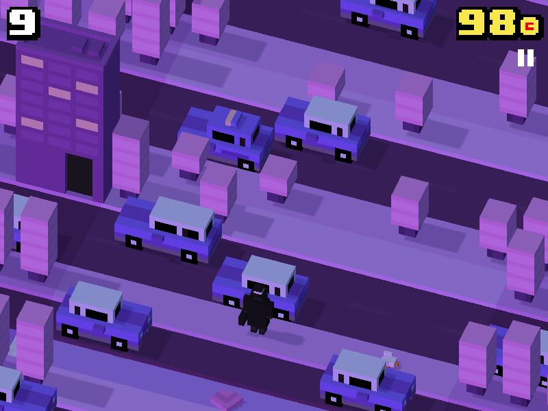 Crossy Road noir