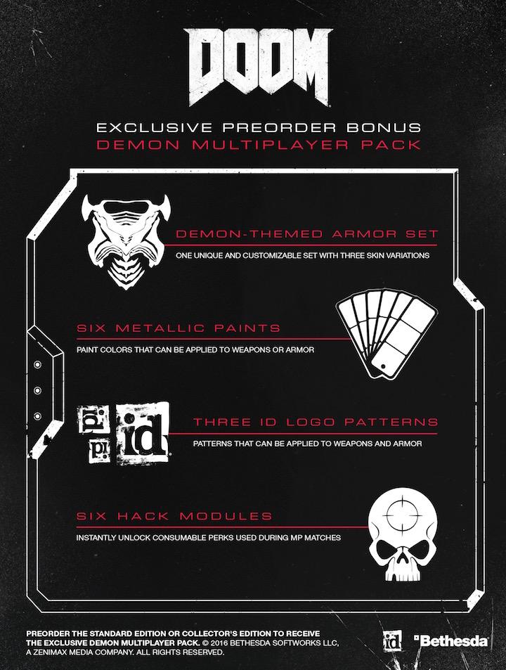 DOOM Pre-order Bonus
