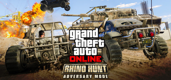 GTA Online Rhino Hunt