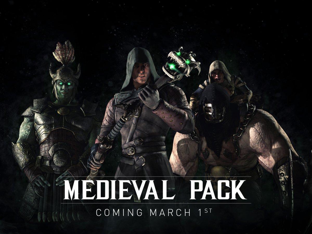 Mortal Kombat X Medieval Pack