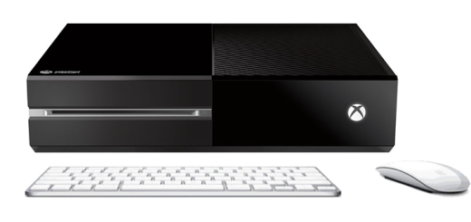 Xbox with keyboard