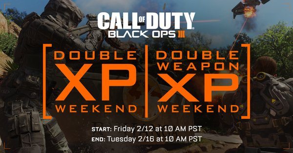 Black Ops 3 double xp