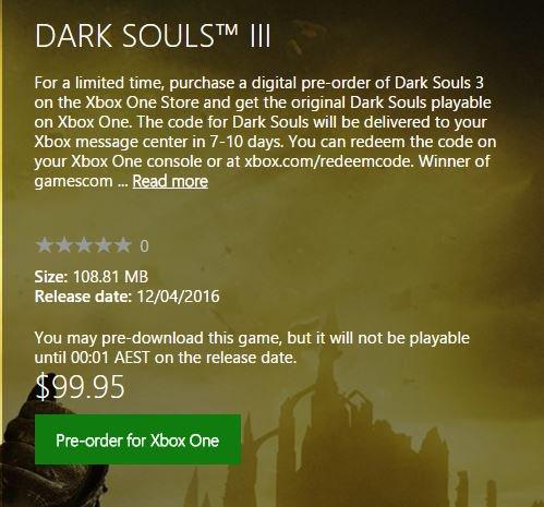 Dark Souls Backwards Compatibility