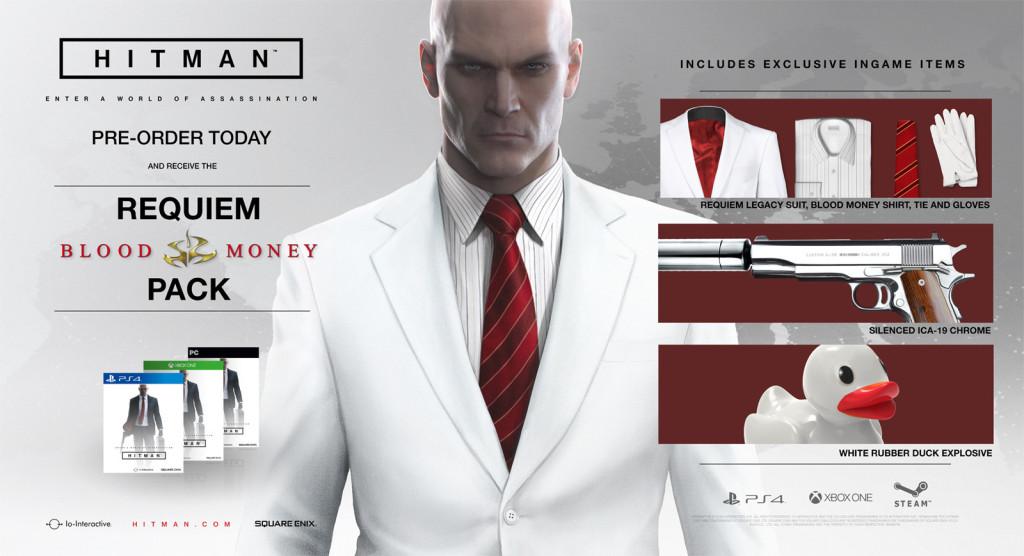 Hitman Pre-order Bonus