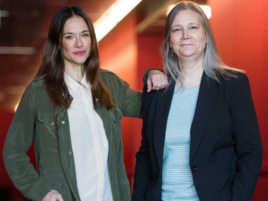 Jade Raymond and Amy Hennig