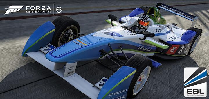 Forza Motorsport 6 ESL Formula E