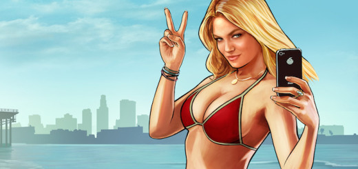 GTA V Beach Girl