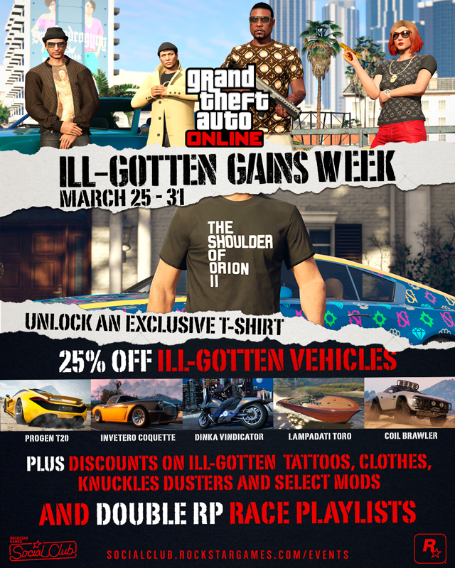 GTAV-Ill-Gotten-Gains-March-Weekend