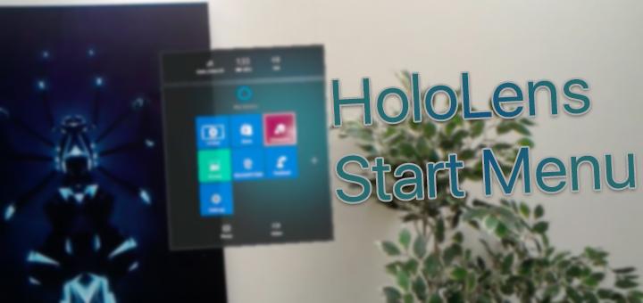 HoloLens Start Menu