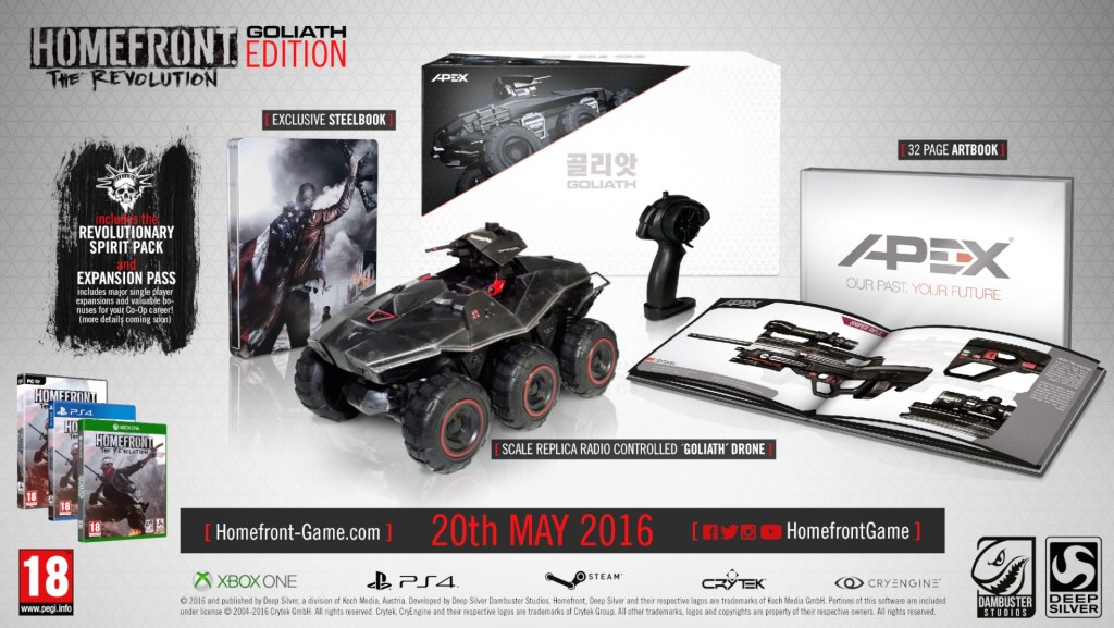 Homefront Collectors Edition