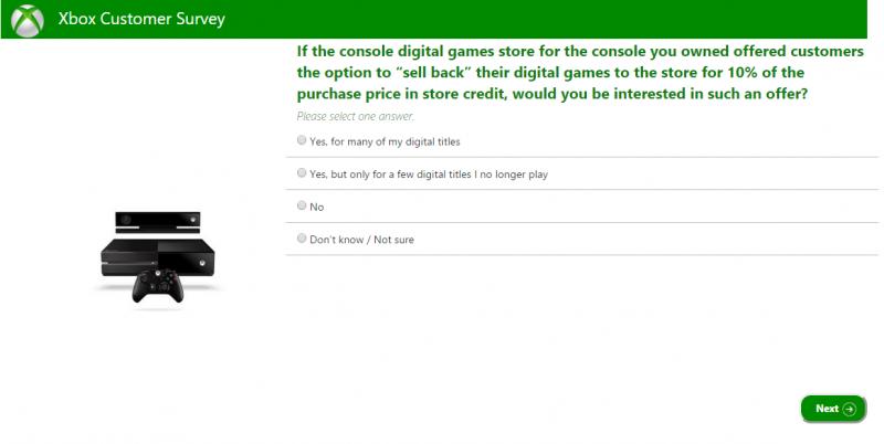 Xbox Customer Survey
