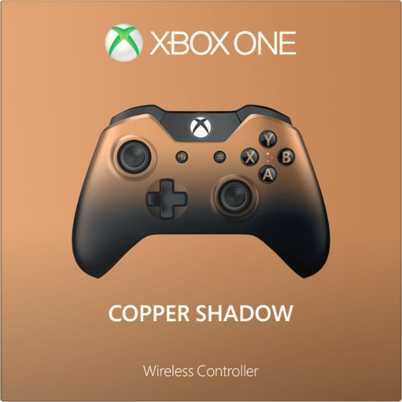 Xbox One Copper Shadow Wireless Controller