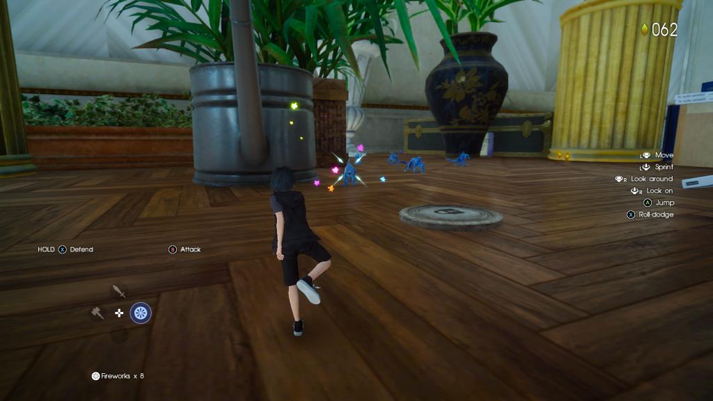 Final Fantasy XV Platinum Demo