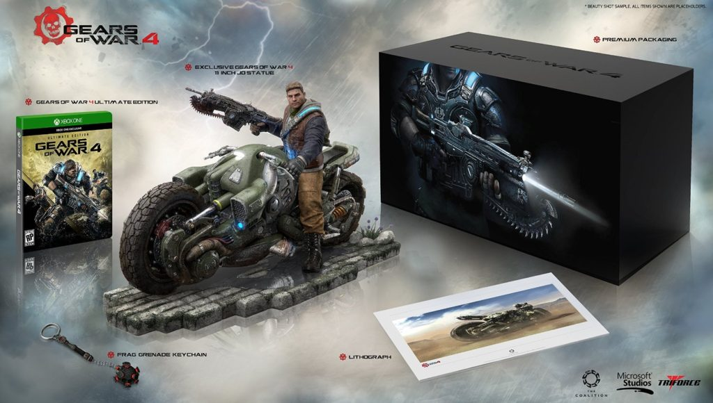 Gears of War 4 Outsider Collectors Edition
