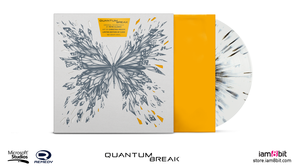 Quantum Break Soundtrack Vinyl Limited Edition