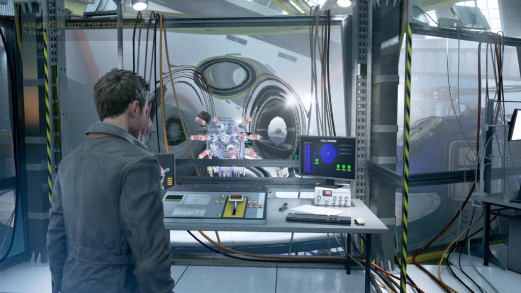 Quantum Break stroj casu
