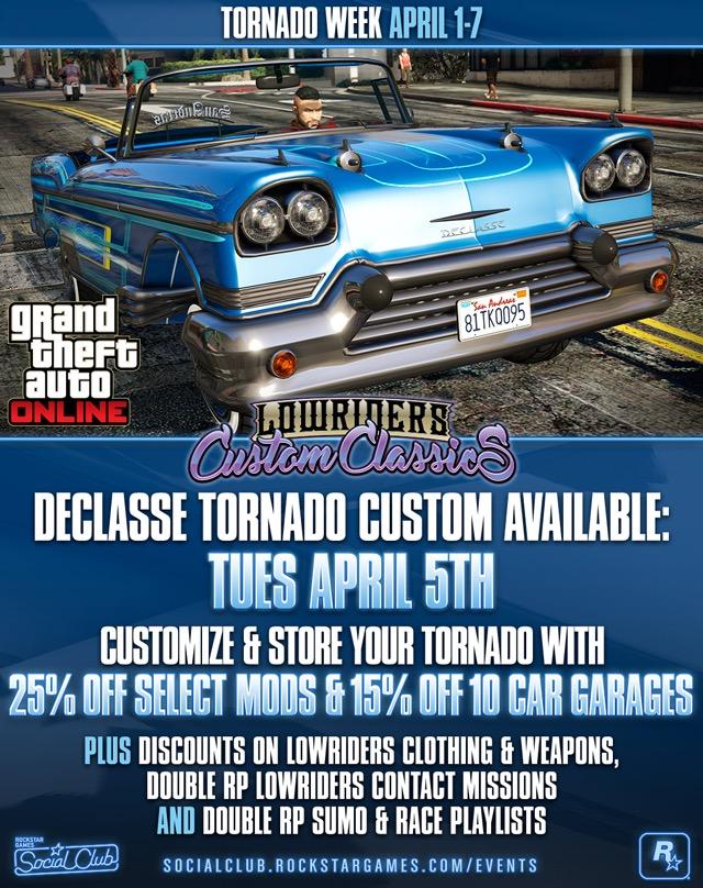 GTA Online Tornado Week